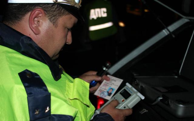 За минувшие выходные задержаны 44 нетрезвых водителя