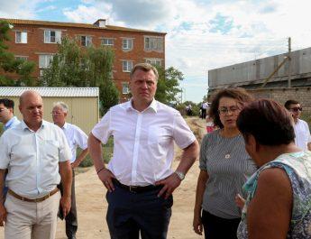 Игорь Бабушкин пообщался с жителями Икрянинского района