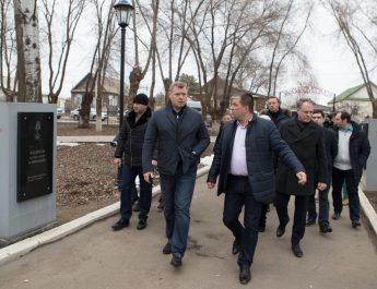Игорь Бабушкин проверил благоустроенный город Харабали