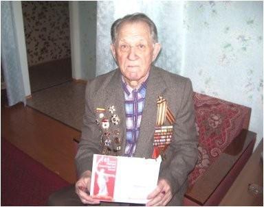 Знаменский солдат Великой Отечественной войны получил медаль