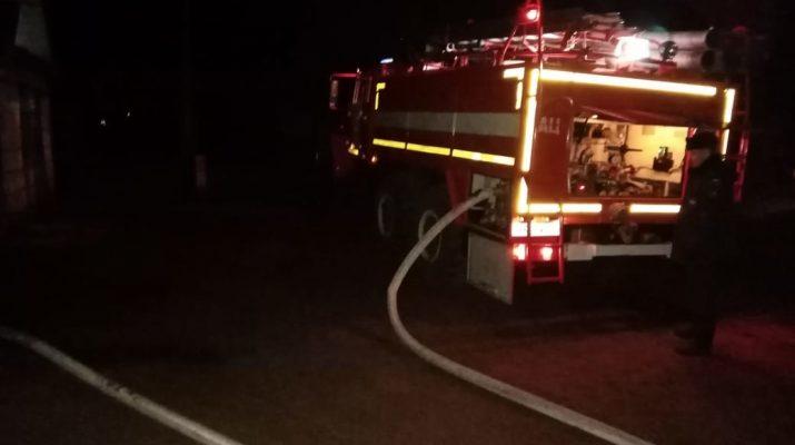 За воскресенье в области произошло несколько пожаров
