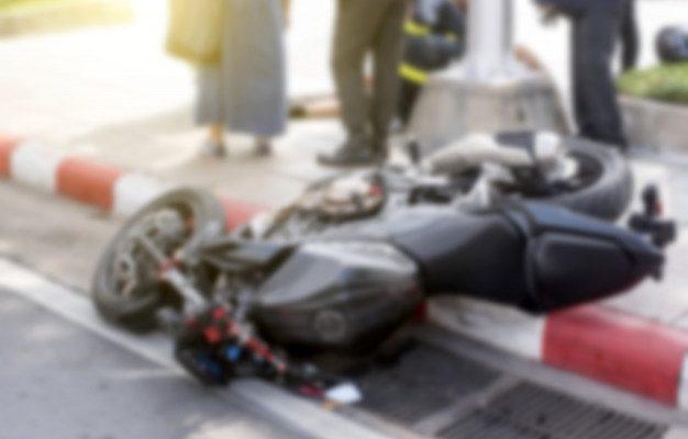 В Астрахани авария с мотоциклом