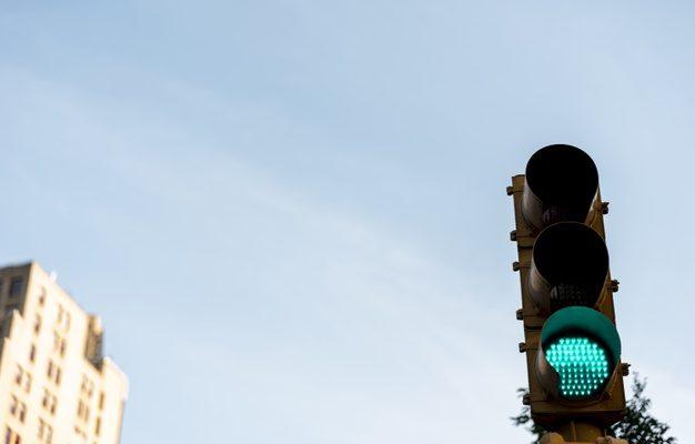 На Аэропортовском шоссе установили светофор