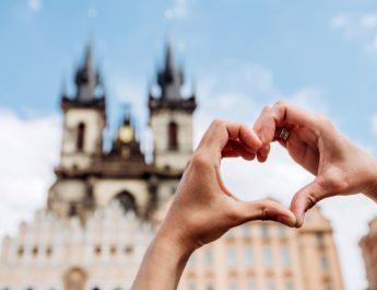 Чехия туристы