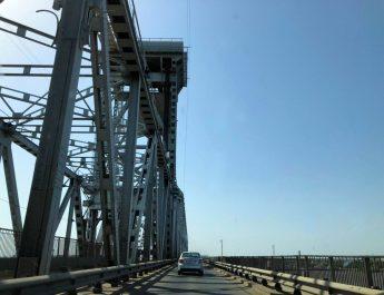 Старый мост Астрахань