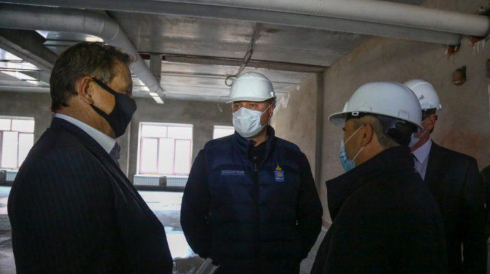 Игорь Бабушкин посетил Наримановский психоневрологический интернат
