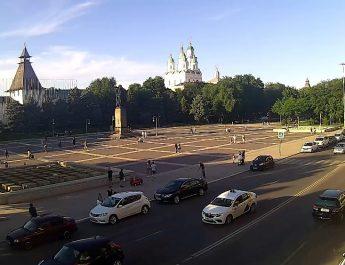 площадь Ленина Астрахань