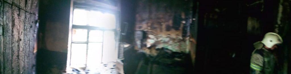 сгорела квартира в Ахтубинске