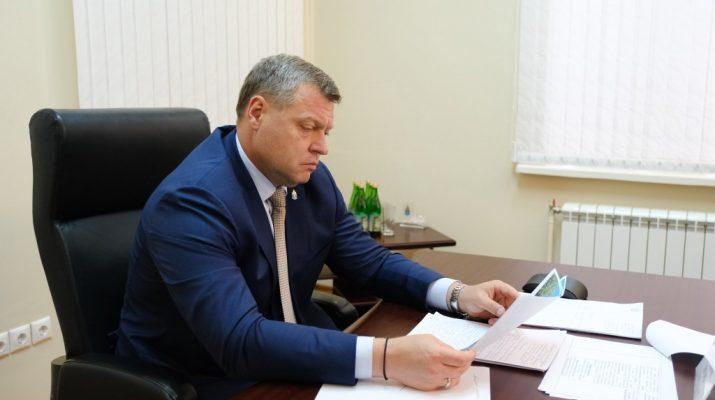 Игорь Бабушкин провёл встречу с астраханцами и выслушал их просьбы