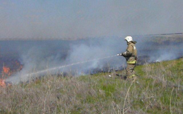 14 и 15 июня в Астрахани ожидается пожароопасность 5 класса