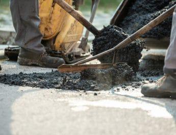 В Астрахани отремонтировали ещё одну дорогу