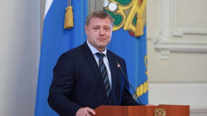 Губернатор Игорь Бабушкин поздравил астраханцев с Днём учителя