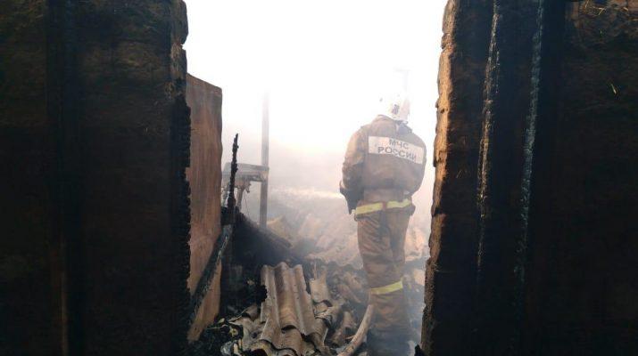 В Астраханской области потушили 17 пожаров