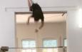 гимнаст на турнике
