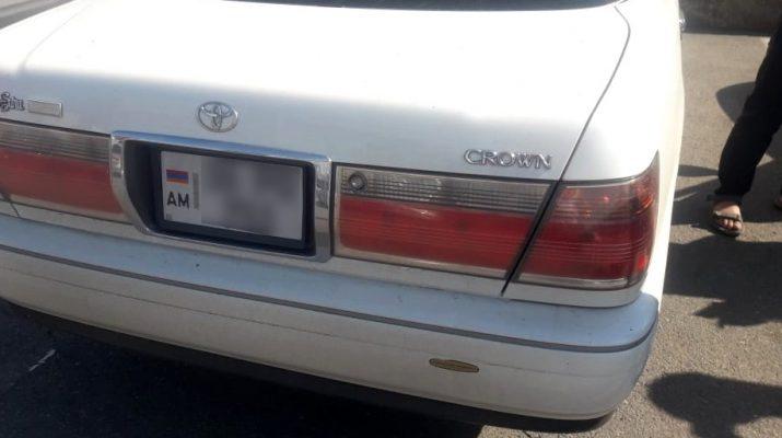 В Астрахани авто-позёра наказала полиция