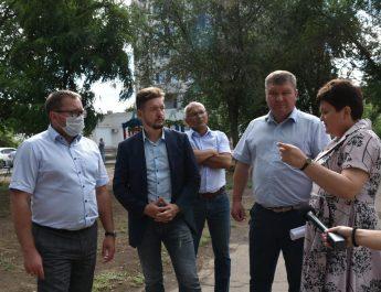 В сквере имени Татищева появится спортивная зона и велодорожки