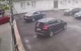 В Астрахани во время ДТП чудом не задавило пешехода (видео)