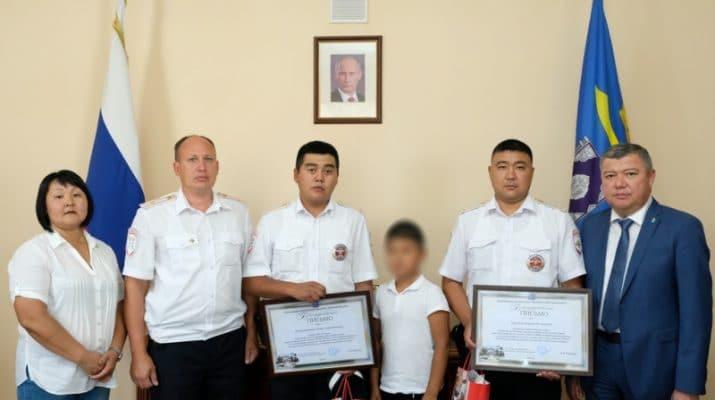 Астраханские полицейские помогли спасти 7-летнего ребёнка (видео)