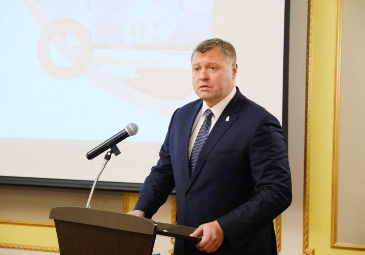 Астраханские предприниматели получили награду из рук Игоря Бабушкина