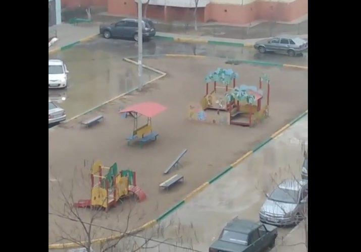 коммунальная авария Астрахань