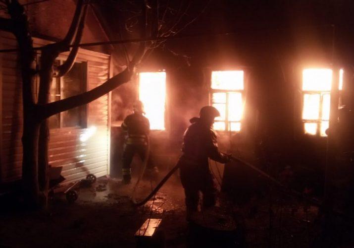 пожар пострадали два ребёнка