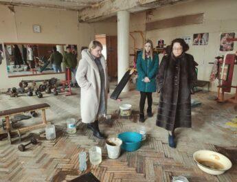 В Красных Баррикадах Дом культуры затопило талойводой