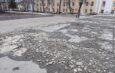 Сквер вцентре Астрахани несколько лет пребывает всостоянии разрухи