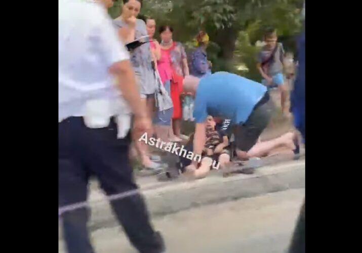 сбили ребенка на волжской