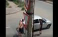 водитель кидался с ножом астрахань