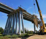 ремонт моста через ерик Белый Ильмень
