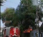 пожар в Астрахани