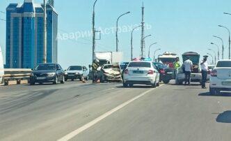 авария на новом мосту