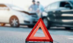 полицейские подстроили аварию
