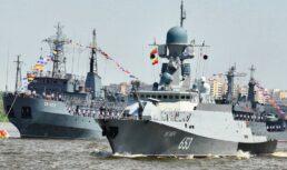 Игорь Бабушкин поздравил астраханцев сДнем военно-морского флота