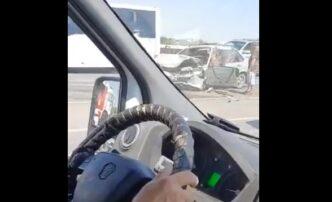 Пострадавшие вДТП на Новом мосту астраханцы госпитализированы
