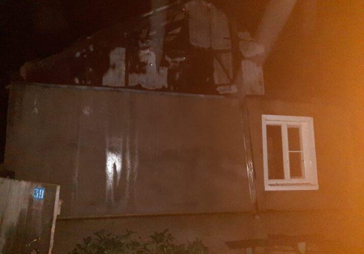 пожар в селе Батаевка