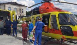 санитарная авиация спасла женщину в коме