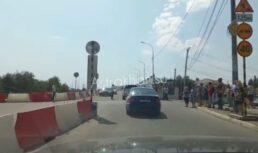 схема движения милицейский мост