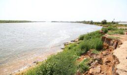 обрушение берега в селе сергиевка