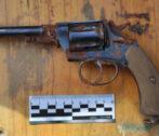 в астрахани нашли антикварные револьверы и боеприпасы