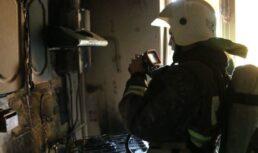 пожар из-за газовой плиты