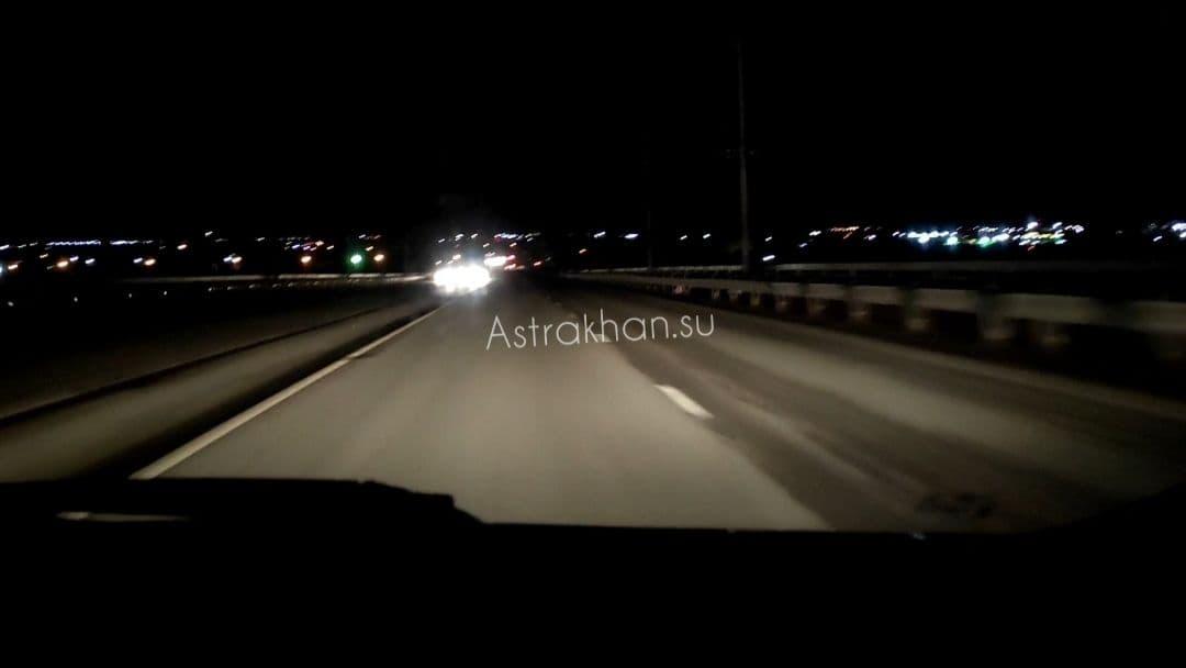 Астраханцы жалуются на отсутствие уличного освещения вПравобережье