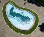 фонтан в форме каспийского моря