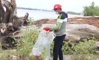 Проект «Пятёрочки» иJ7 помог сделать чище берег Волги вАстраханской области