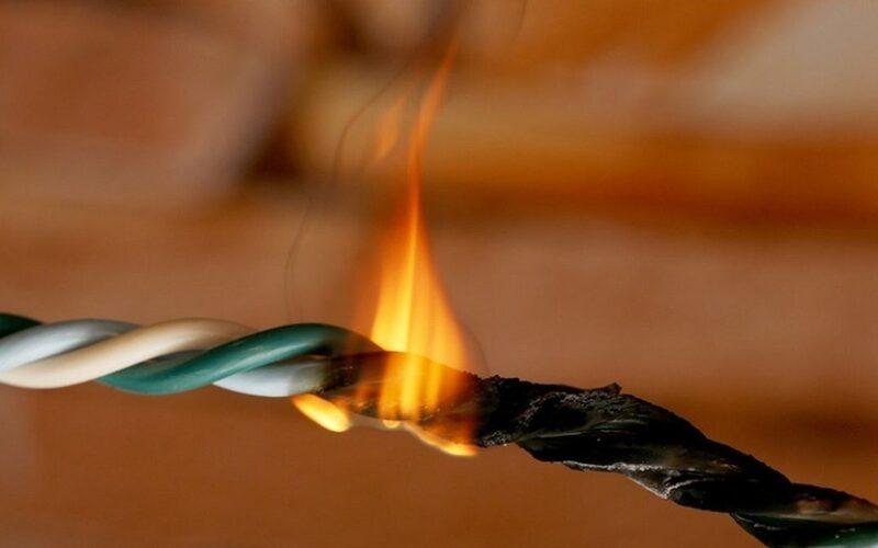 пожары электричество