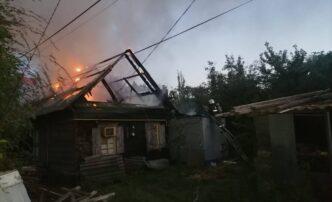 пожар в ленинском районе астрахани